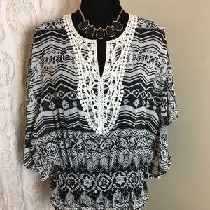 American dream blouse Sz L